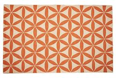 Brentwood Rug, Orange/Ivory on OneKingsLane.com 8 x 10 $455