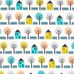 Shady Lane | Blue from House and Garden {Jo-ann Stores} by Michelle Engel Bencsko for Cloud9 Fabrics