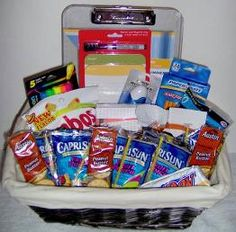Best going to college basket ever apartment decorating college gift basket google search negle Gallery