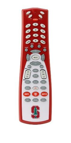 GameChanger 00044 STANFORD UNIVERSITY Logo and Colors on ESPN-Enabled Button Universal Remote Control