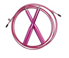 Plixio Jump Rope Speed Cable - MMA Training, Boxing Aluminum Double Under Rope w/ Extra Cable