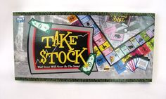 Hart Toys Take Stock Board Game Ages 8