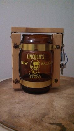 Vintage Abraham Lincoln Illinois Siesta Ware by CollectorsAgency, $10.95