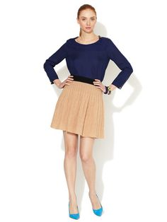Marc by Marc Jacobs Wool Cable Sweater Skirt