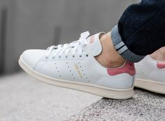 223063004e5ee7 Adidas Stan Smith Vintage  Ray Pink Gold  More
