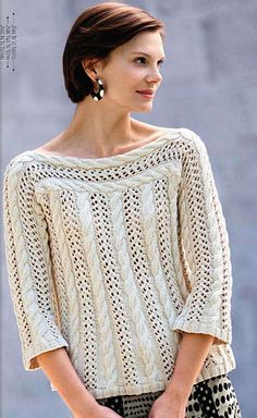 Пуловер Nautical notes из Knitter's 102 - Елена Антонова - Веб-альбомы Picasa