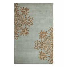 Home Decorators Collection Tempo Blue 9 ft. 6 in. x 13 ft. 9 in. Area Rug