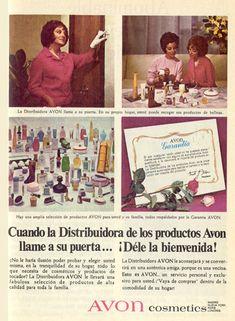 """Avon 1969- Es imposible no recordar estas palabras  """"Cuando Avon llame, déle la bienvenida"""""""
