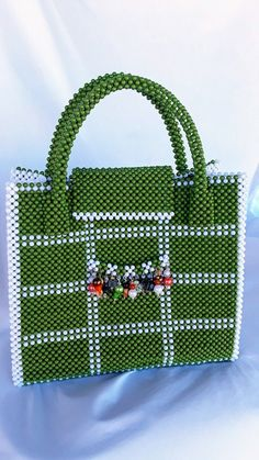 a8fda6b7e0aac women bead bag A beaded handbag and a carrier .acrylic handmade beaded  handbag women hand woven bead