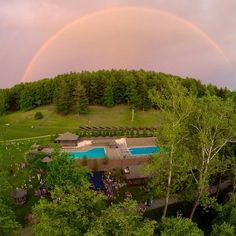 There's no place like home! Who remembers this #campgreystone rainbow?