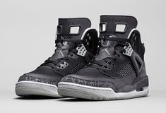 Air Jordan Spizike Cool Grey Stealth Black Light Graphit shoes