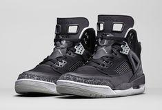 Air Jordan Spizike Cool Grey Stealth Black Light Graphit shoes