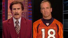 Full Ron Burgundy-Peyton Manning Interview