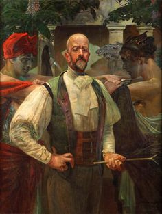 Autoportret 2 - Jacek Malczewski