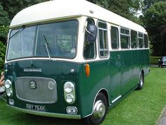 1970s Bedford 18-seater bus, once owned by the Queen Mother.