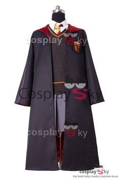 Harry Potter Uniforme de Gryffindor Hermione Granger Cosplay Disfraz_1…