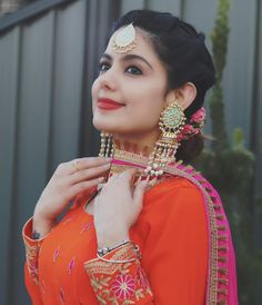 Punjabi Fashion, Indian Fashion Dresses, Dress Indian Style, Indian Designer Outfits, Designer Dresses, Beautiful Girl Photo, Cute Girl Photo, Beautiful Girl Indian, Most Beautiful Indian Actress
