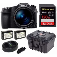 Sony Cyber‑Shot IV with Second Auto-Focus Optical Zoom and SanDisk Extreme PRO - Black for sale online Flash Photography, Underwater Photography, Focus Camera, Ny Usa, Printer Scanner, Zeiss, Binoculars