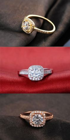 Able Anillo Toi Me Perla Y Diamante Oro Amarillo Clásico Pearl
