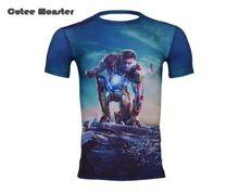 Camiseta homens 2016 verão de montagem de ferro homem para homens camisa roupas de secagem velocidade respirável ginásio de esportes //Price: $US $16.99 & FREE Shipping //    #marvel