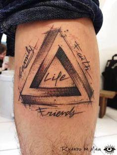 「triangulo tattoo」的圖片搜尋結果