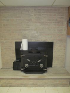 My First Personal Pin Woooohooo Did This To Fireplace Last Weekend Whitewash