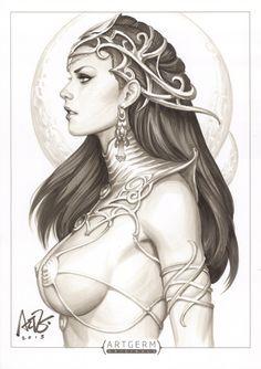 Dejah Thoris Original 1 by `Artgerm on deviantART