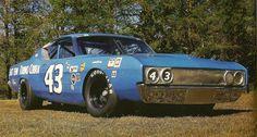 Ford Torino Cobra NASCAR race car.