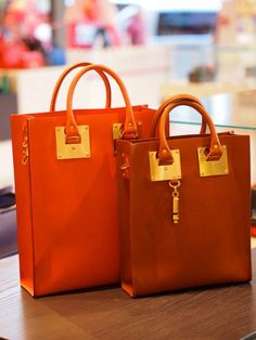 SOPHIE HULME armour leather tote