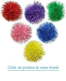 Glitter Pom Pom Balls - Lots Sparkly Small Pom Pom Ball Cat Toys *** Check this awesome product by going to the link at the image. (This is an affiliate link and I receive a commission for the sales) Catnip Toys, Pet Toys, Cat Training Pads, Cat Shedding, Cat Fleas, Cat Memorial, Cat Supplies, Toy Sale, Cats