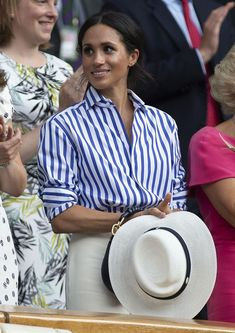 Why the Duchess of Sussex wasnt allowed to wear her hat at Wimbledon