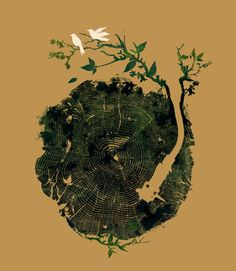 'Nature's+Music'+von+Budi+Kwan+bei+artflakes.com+als+Poster+oder+Kunstdruck+$24.96