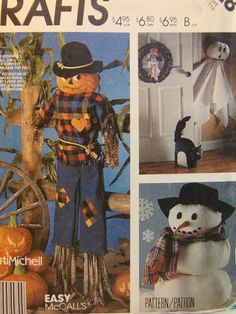 Vintage 1986 McCall's Crafts 2628 Pattern by OldCrowsTreasures247
