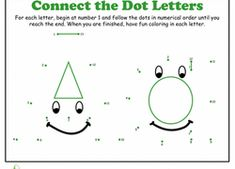 Give your child will get some great counting practice while reinforcing her knowledge of the alphabet with this great series of printable dot to dot worksheets. Preschool Literacy, Preschool Education, Kindergarten Reading, Kindergarten Worksheets, Teaching Letters, Preschool Letters, Alphabet Activities, Alphabet Crafts, Alphabet Soup