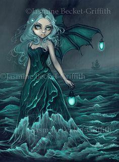 Blue Angel Publishing - Jasmine Becket-Griffith Coloring Book - Originals