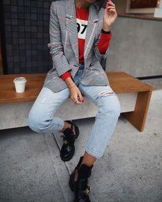 Tendencia Que Nos Encanta: Blazers A Cuadros | Cut & Paste – Blog de Moda