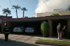 Incendio destruye estudio de grabación musical en la colonia Centenario