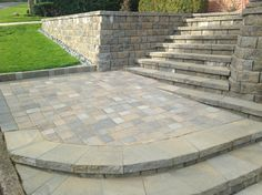 Nice Entry,  design by Noah, System Pavers