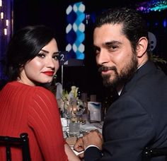 Demi Lovato and Wilmer Valderamma at the event in Beverly Hills, CA - February Demi Wilmer, Demi Lovato Wilmer Valderrama, Demi Love, Famous Couples, Best Friends Forever, Her Music, Celebs, Celebrities, Celebrity Couples