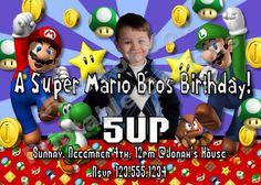 Super Mario Bros  Mario and Luigi  Custom by 4UPrintableDesigns, $12.00