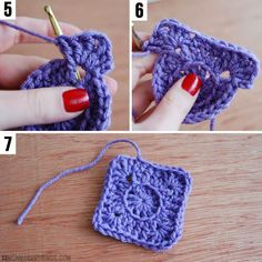 mon makes things: Arden Granny Square Pattern