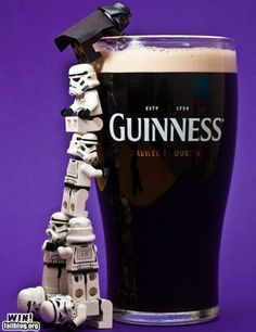 "BEER Joining the ""Dark Side""!"