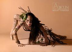 EARTH @ Ajkun Ballet Theatre. Dancer: Brittany Larrimer.