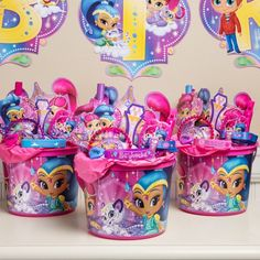 Shimmer and Shine Ultimate Favor Kit for 8 Guests