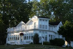 Petoskey Michigan, Emmet County MI  {I grew up just around the corner from this house}