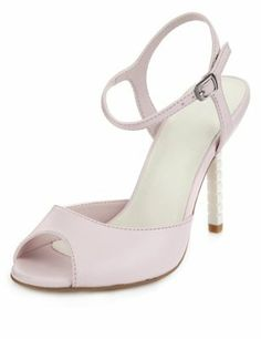 a18633131918 Limited Edition Ankle Strap Sandals with Insolia® Blush Pink Weddings