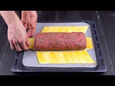 Wrap spaghetti in ground beef for a delicious meal you'll want to make again and again Beef Casserole Recipes, Mince Recipes, Beef Recipes For Dinner, Ground Beef Recipes, Cooking Recipes, Hamburger Dishes, Beef Dishes, Pasta Dishes, Minced Meat Recipe