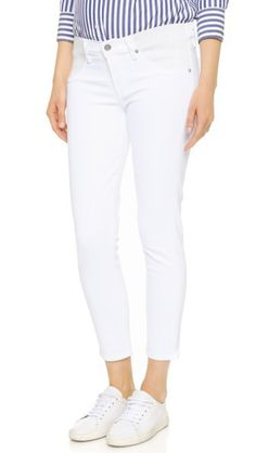 online shopping for Citizens Humanity Avedon Below Belly Ultra Ankle Skinny Jeans from top store. See new offer for Citizens Humanity Avedon Below Belly Ultra Ankle Skinny Jeans Black And White Jeans, White Denim, Stella Mccartney, Buy Jeans, Women's Jeans, Maternity Skinny Jeans, Citizens Of Humanity Jeans, Cropped Jeans, Leggings Fashion