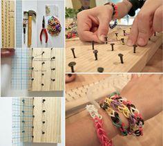 DIY Rainbow Loom Board