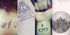24 tatuaggi magici ispirati a Harry Potter -cosmopolitan.it